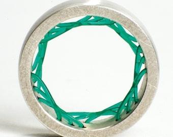 Flexible ring - Green