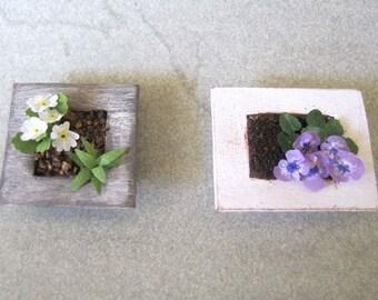 Miniature plant framework