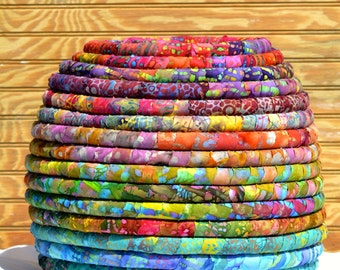 Large Fabric Coiled Basket