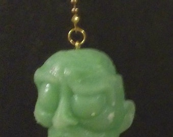 Glow in the Dark Brain Dead Zombies ceiling fan/light chain pulls