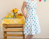 Colette Patterns Crepe Wrap Over Dress Sewing Pattern