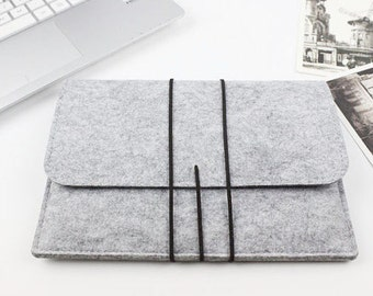 "Felt Macbook Air 13.3"" sleeve, Macbook 13"" sleeve, Macbook 13.3"" case, Macbook Air Case, Macbook Air Sleeve, laptop case Laptop sleeve SJ286"