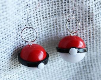 Earrings Pokeball - Pokemon