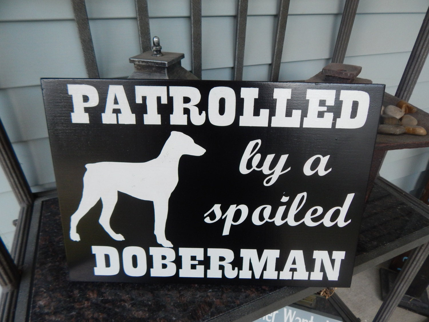 Funny dog sign dog lovers decor dog lovers quote dog for Dog related home decor