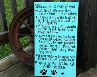 Rules For Non Dog Cat Owners