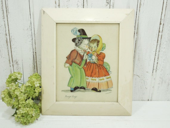 Vintage Wall Decor Nursery : Wall decor vintage art nursery rhyme picture k by guttersnipes
