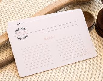Recipe card box | Etsy