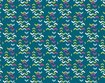 AGF River Shadows Midnight | Safari Moon by Frances Newcombe for Art Gallery Fabrics