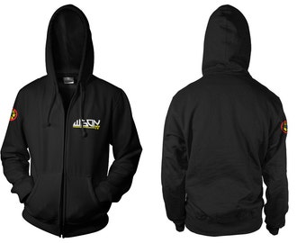 Dawn of the Dead: WGON-TV Movie Pullover/Zip-Up Hooded Top