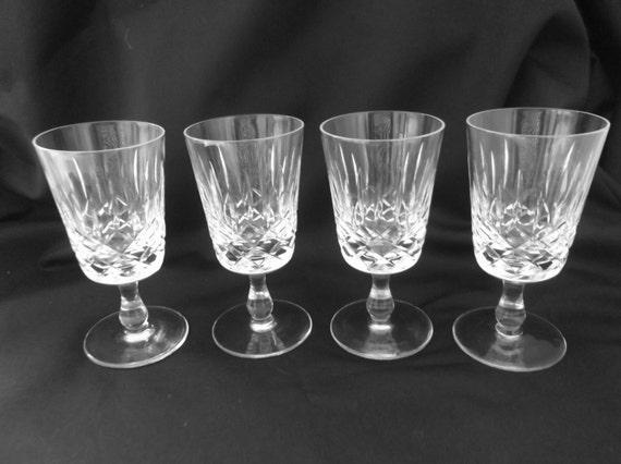 Crystal Liqueur Glasses Uk