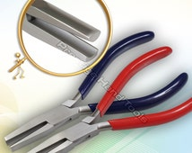 """Forming Pliers Rind Bending Half Round Concave Nose Pliers Jewellery MakingTools 6.5"""""""