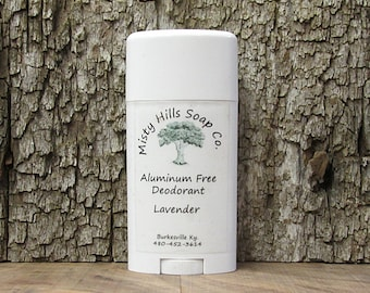 All Natural Aluminum Free Deodorant Earth Bound Scent
