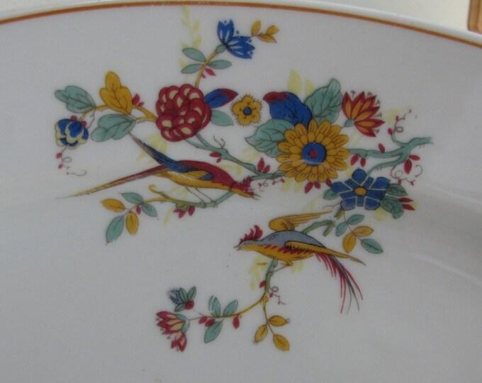 Antique Limoges Platter C. Ahrenfeldt Patented France Depose AHR45 1884-1894
