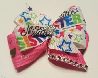 Middle Sister Hair Bow