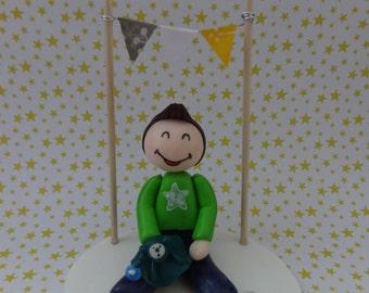 Cake Topper Anniversary / Birthday