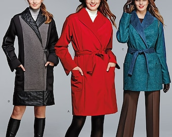 OUT of PRINT Simplicity Pattern 1015 Misses' / Miss Petite Lined Coat or Jacket