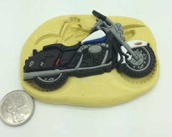 Large Bike Motorcycle Silicone Mold  #5
