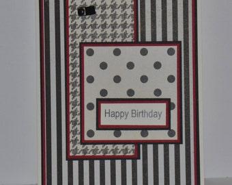 Stripes, Dots and Herrringbone