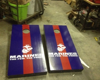 US Marines Corn Hole Boards