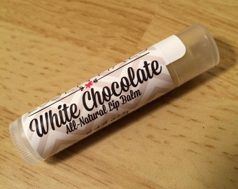 All Natural Lip Balm - White Chocolate (Cocoa Butter)