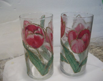 Handmade Tulip Candleholders