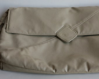 Vintage Faux Leather 2 Pocket Envelope Purse