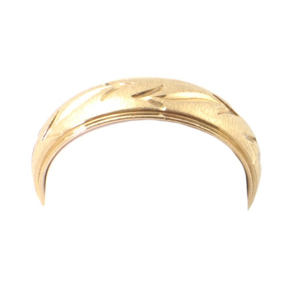 Men S 14k Gold Wedding Band With By Encorejewelryandgems