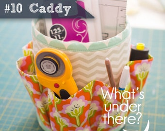 Number 10 Caddy Kitchen or Sewing Room Organizer Sewing Pattern