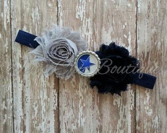Dallas Cowboys elastic infant, toddler, or adult headband