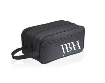 Toiletry Bag for men, Personalized Toiletry Bag, Monogram Toiletry Bag, Mens Toiletry Dopp Bag, Unique Gift for Men,Mens Gift, Shaving kit