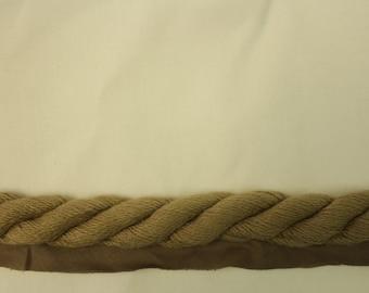Taupe Braided Cording - Decorative Trim 859