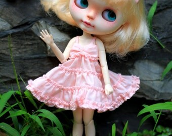 Blythe pink  sling cake skirt