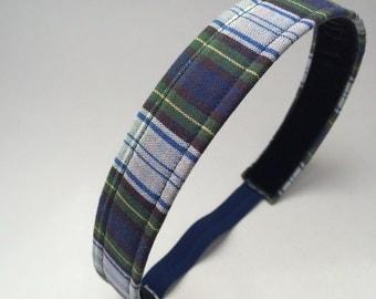 School Uniform Headband- Custom Plaid Uniform Headbands #12