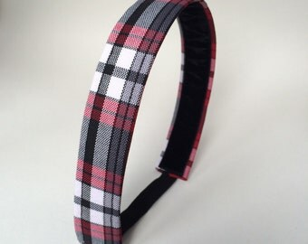 School Uniform Headband- Custom Plaid Uniform Headbands #10