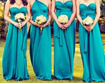 Convertible Wrap Infinity Dress (Long)