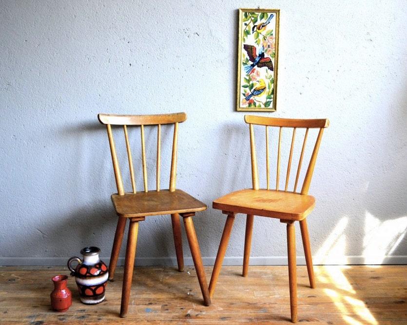 Paire de chaises scandinaves vintage style tapiovaara - Chaises scandinaves vintage ...