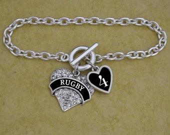 Custom Number Rugby Bracelet