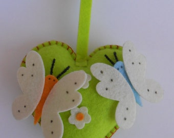 Pincushion Felt Heart