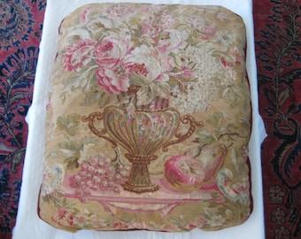 Antique Tapestry Urn