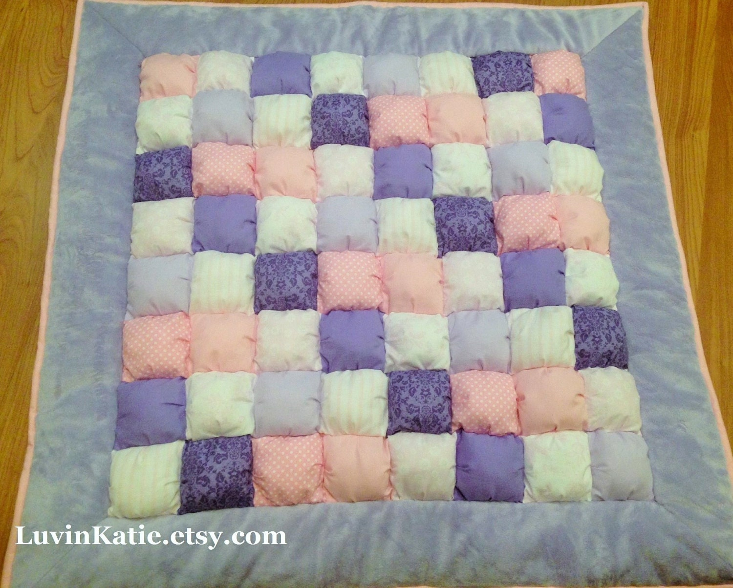 Bubble quilt bubble blanket puff quilt baby floor by for Floor quilt for babies