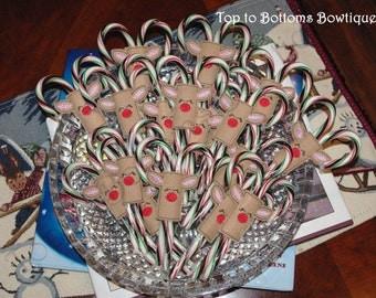 Reindeer Candy Cane Holder (Felt)