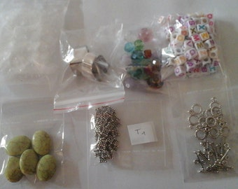 lot 7-piece jewelry miscellaneous (t1)