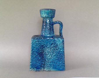 Marei 834 rare handled vase made in the 1970s , West  German Pottery Mid Century Modernist.  WGP.