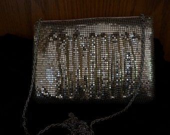 Gold Metal Clutch Vintage