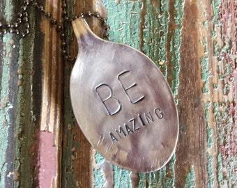 be amazing {necklace}