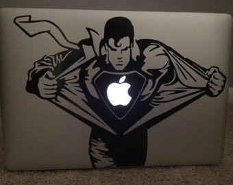 Superman Decal for Mac Laptops