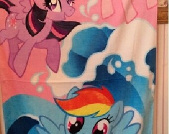 MLP My Little Pony Beach Towel Personalized