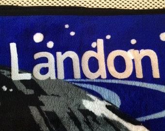 Star Wars Rebellion Micro Raschel Throw Blanket - Personalized