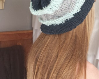Adult knitted beanie