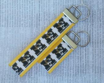 "6"" MU Mizzou Key Fob Key Chain"